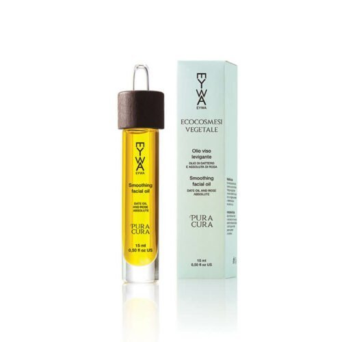 Smoothing face oil